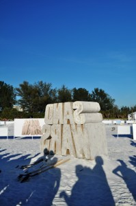 "The Travel Channel Filmed ""Sand Wars"" on Siesta Key, Florida, Dec. 17, 2011"
