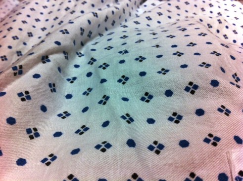 Rockin' This Year's Hospital Print: Blue Dots