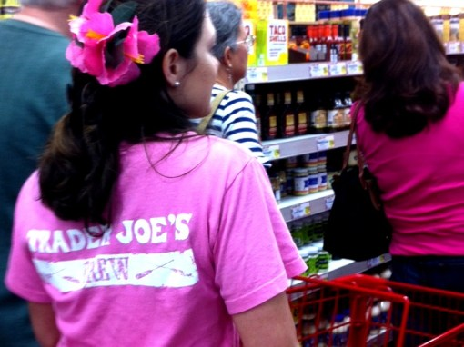 Even Trader Joe's Crew Members Had to Stand in Line