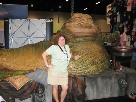 Me Rockin' My Skort at Star Wars Celebration V, Aug. 2010