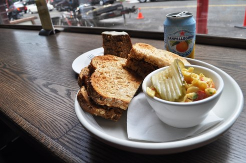 Delicious Vegetarian Lunch at Brixton Cafe in Vancouver, B.C.