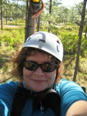 That's Me! On the Florida EcoSafaris Cypress Canopy Cycle