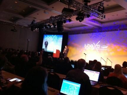 Rick Calvert, CEO of TBEX during the TBEX 2012 Closing Keynote