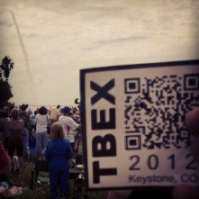 My TBEX 2012 Sticker at the Final Space Shuttle Launch (STS-135), July 8, 2011