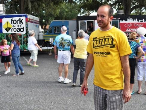 he Food Truck Bazaar Founder Mark Baratelli