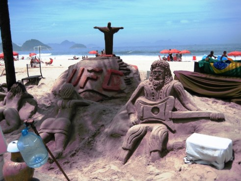 There's a Fee for this Photo, Copacabana Beach, Rio de Janeiro, Brazil
