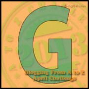 """Monday, April 8, is Brought to You by the Letter """"G"""""""