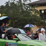A Little Rain Couldn't Dampen the Parade, Sarasota, Fla., July 5, 2013
