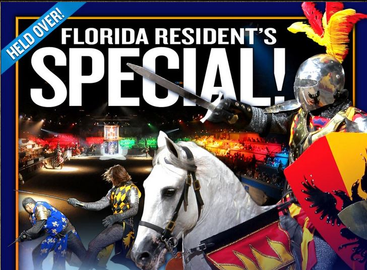 Travel through the mists of time to a forgotten age at Medieval Times Dinner & Tournament. Florida Resident Savings. Adults $ & Kids $ (Save up to $26 per person) Not valid for the late NYE show. Valid at the Orlando castle only for shows through 12/31/ Hang on to your helmet. The show is about to begin. Inside the stone.