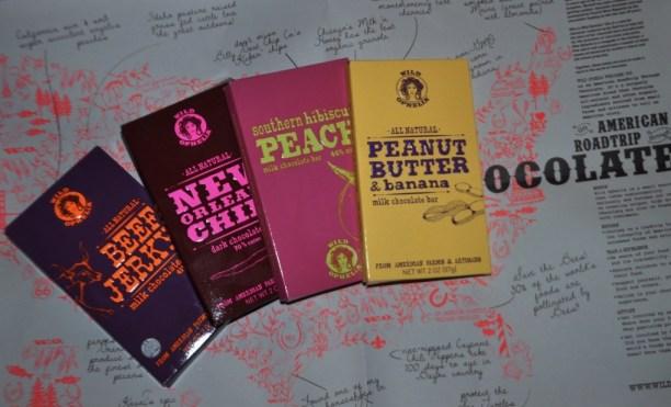 Wild Ophelia's American Roadtrip through Chocolate Collection