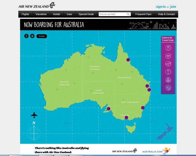 Now Boarding for Australia