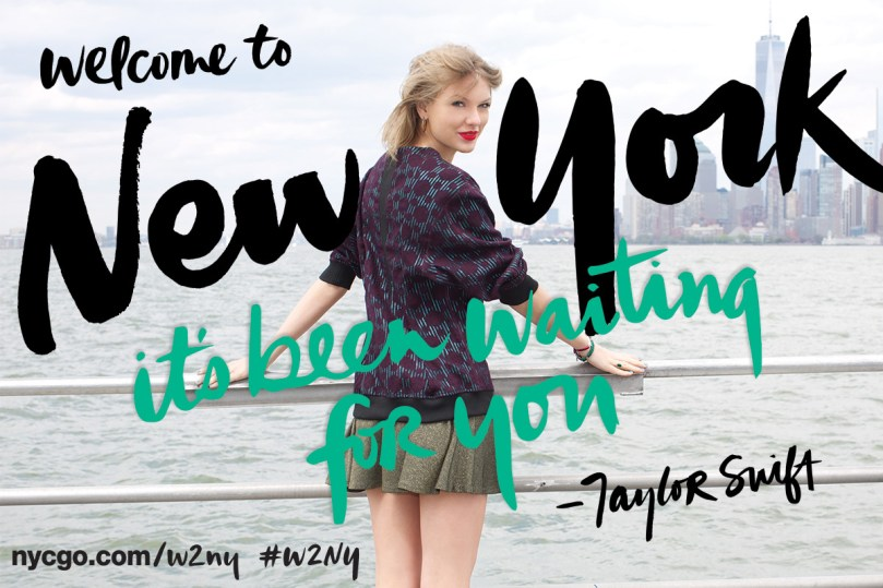 Taylor Swift is New York City's Global Welcome Ambassador for 2014-2015