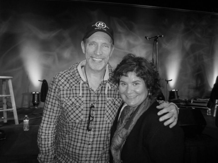 Gordon Kennedy and Me at a Recording for SiriusXM radio's Music City Connection: Heroes Behind the Hits, Nov. 20, 2014