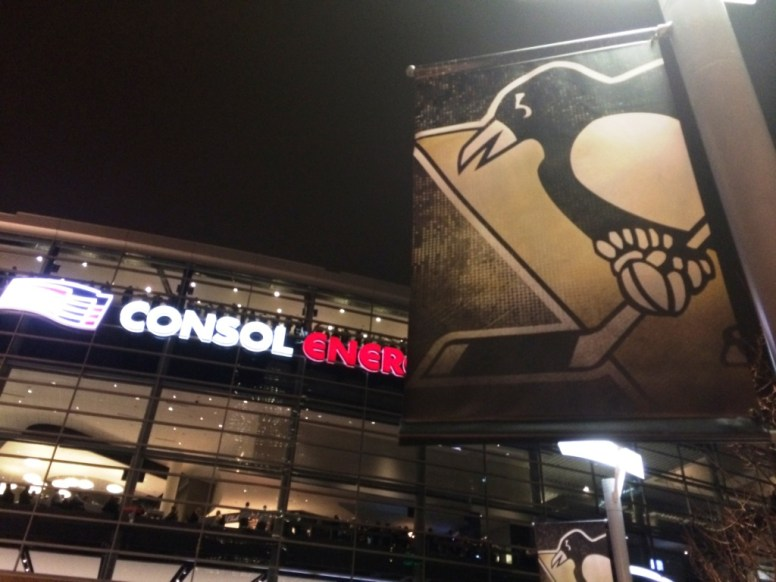 Consol Energy Center where the Pittsburgh Penguins play.