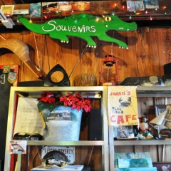 A Florida Everglades Lunch at Joanie's Blue Crab Cafe