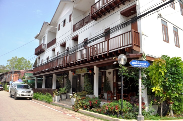 Sri Chiang Khan Hotel in Chiang Khan, Loei Province, Thailand. March 2015.