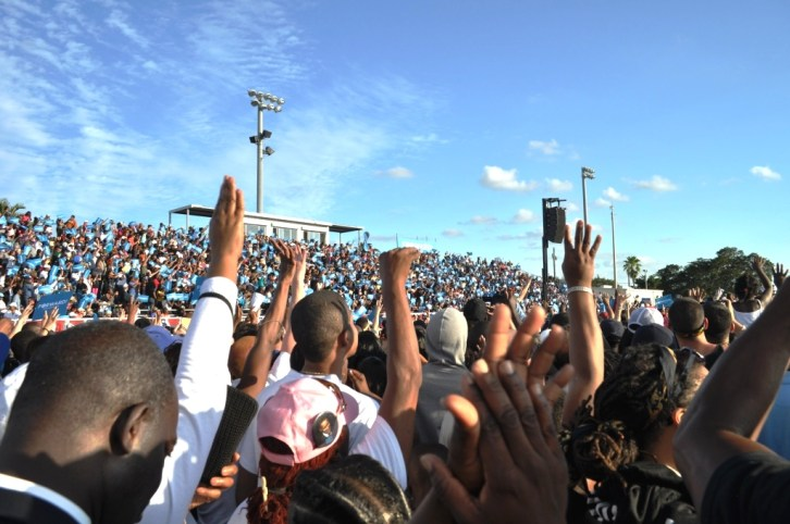 Campaign Rally for President Barack Obama, Fort Lauderdale, Fla., Oct. 2012.
