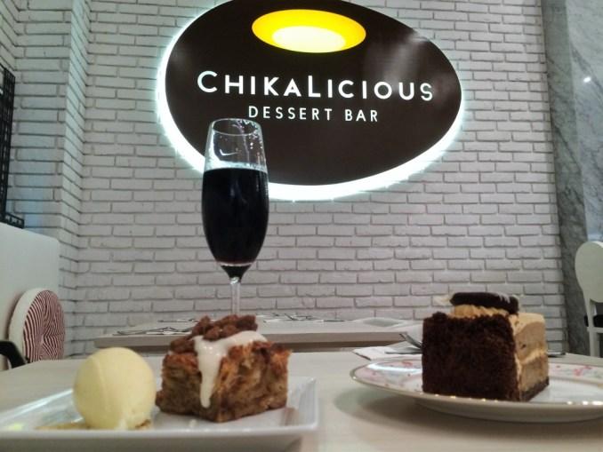 Chikalicious Dessert Bar in Central Embassy in Bangkok, Thailand, March 2015.