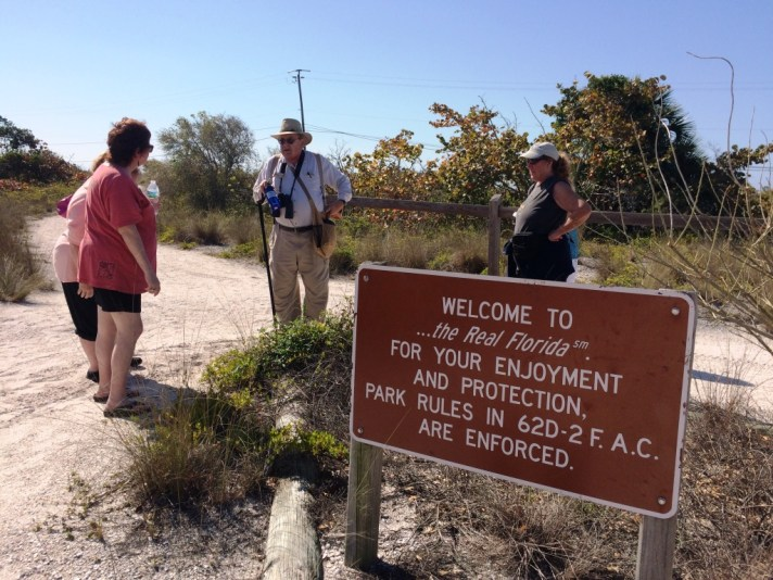 Captiva Cruises partners with the Charlotte Harbor Environmental Center to offer trips to Don Pedro Island State Park, Fla.