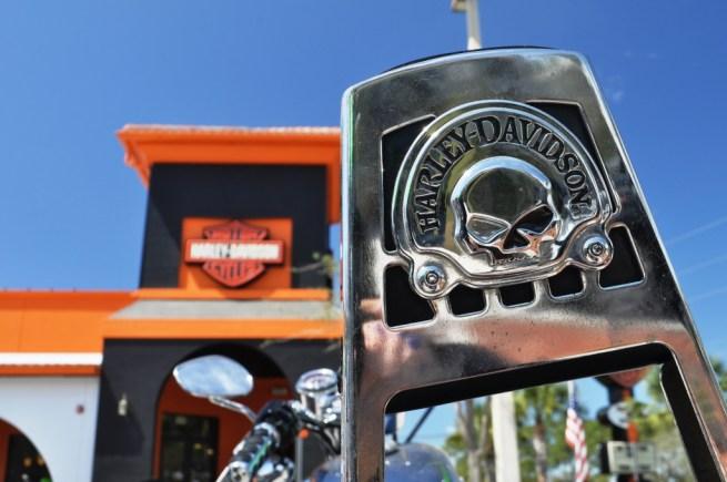 Bert's Black Widow Harley-Davidson, Port Charlotte, Fla.