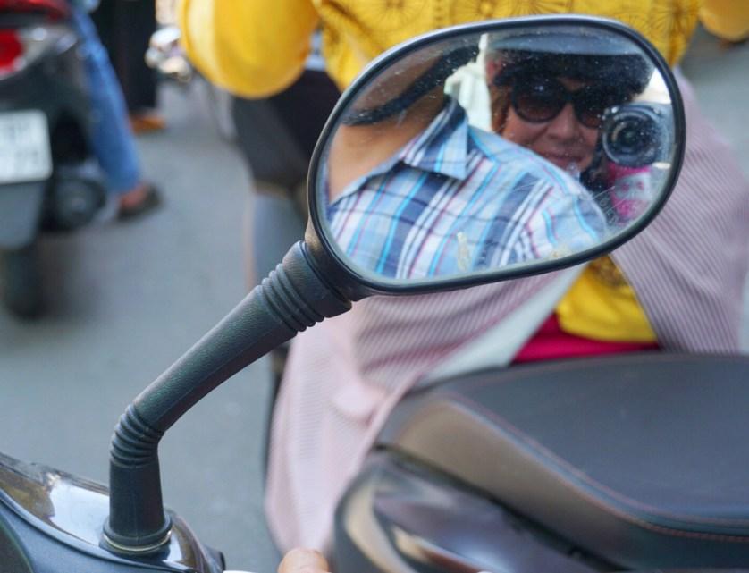#SaigonMotorbikeSelfie with Saigon Street Eats in Ho Chi Minh City, Vietnam, April 2016