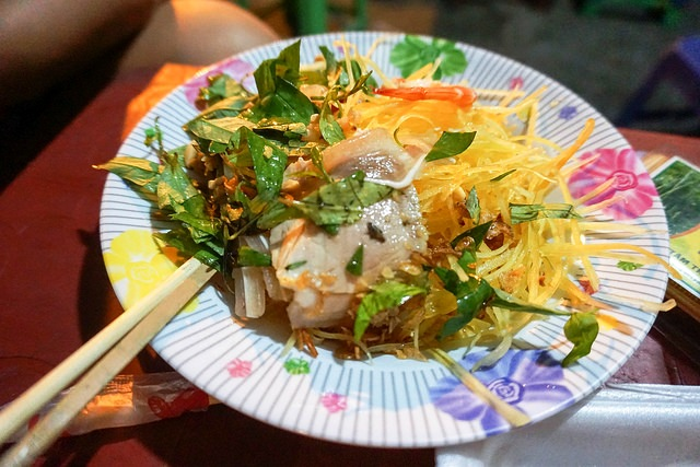Mango Salad Enjoyed During Saigon Food Tour at Night with Urban Adventures