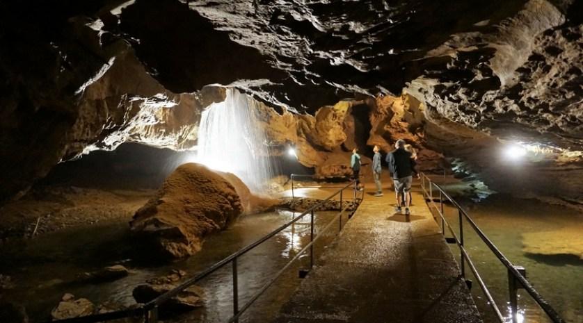 Tuckaleechee Caverns in Townsend, Tenn.