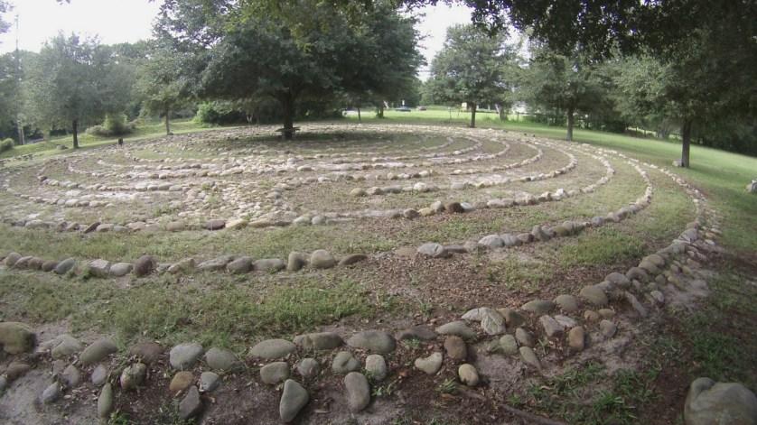 Peace Park Labyrinth in Ocala