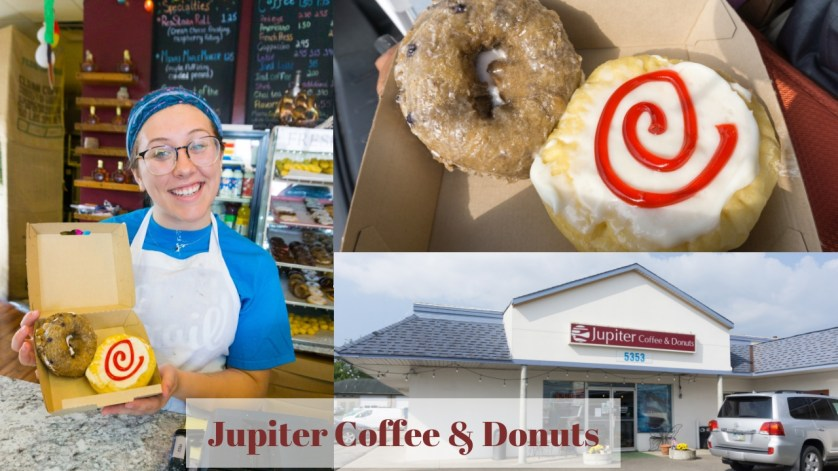 Jupiter Coffee & Donuts on the Butler County Donut Trail, Aug. 2018