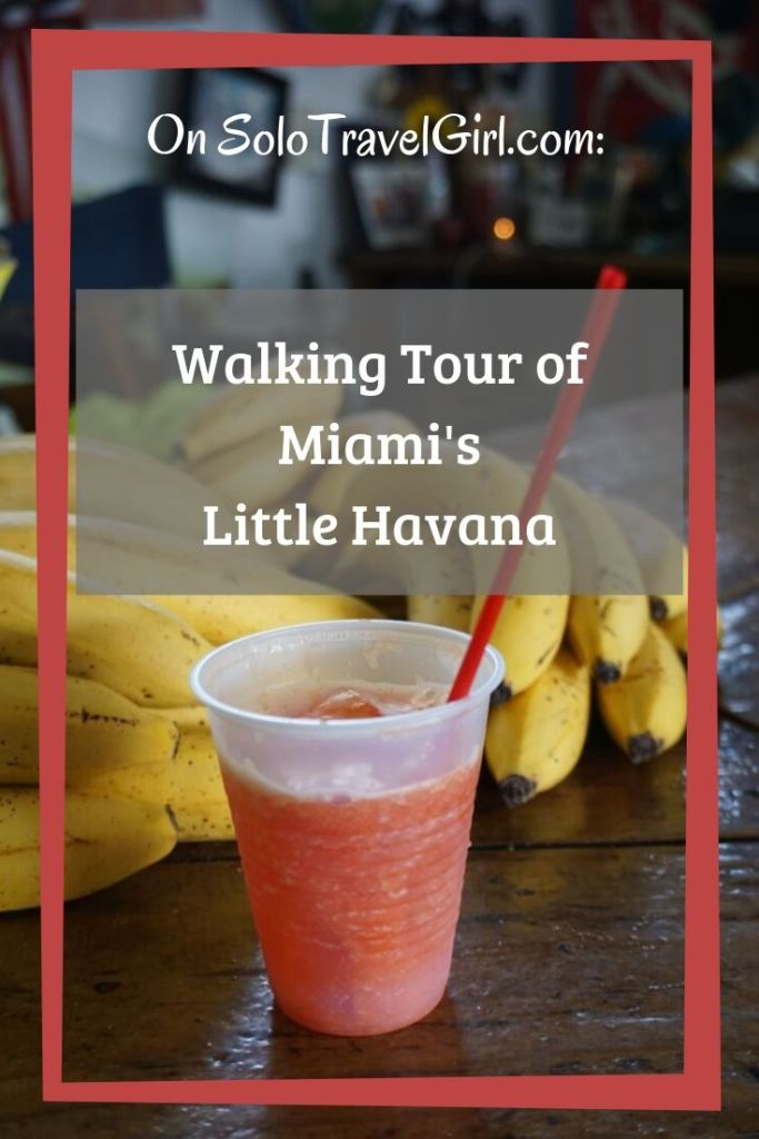 Pin It! Fresh Watermelon Juice from Los Pinarenos Fruteri in Miami's Little Havana, May 2019.