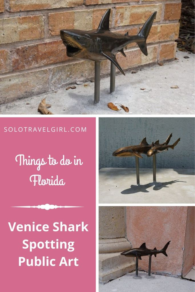 Pin It! Things to do in Florida: Venice Shark Spotting Public Art