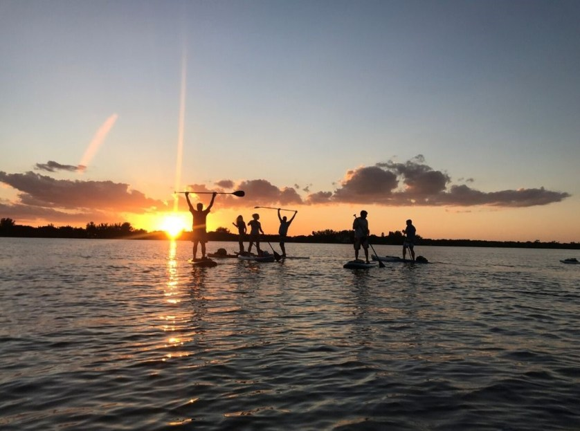 Stand-Up Paddle Boarding Evolved from Surfing and Emerged from Hawaii.
