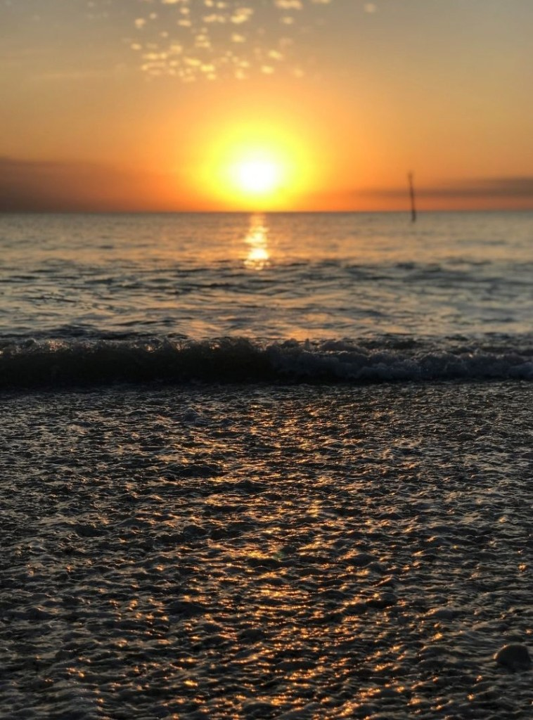 Gulf of Mexico Sunset at Englewood Beach, Feb. 2020