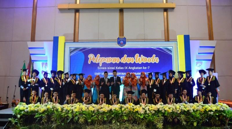 Wisuda SMP Muhammadiyah PK Solo.