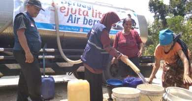 Solopeduli Kirim Air Bersih ke Daerah Kekeringan