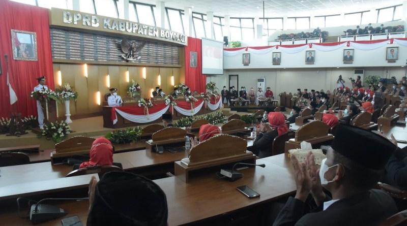 Gubernur Jateng Lantik Bupati dan Wakil Bupati Boyolali terpilih, M. Said Hidayat dan Wahyu Irawan