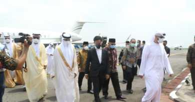 Gibran Bersama Rombongan UEA Tinjau Bakal Lokasi Islamic Centre
