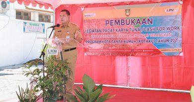 Wakil Walikota Solo Buka Program Padat Karya Tunai