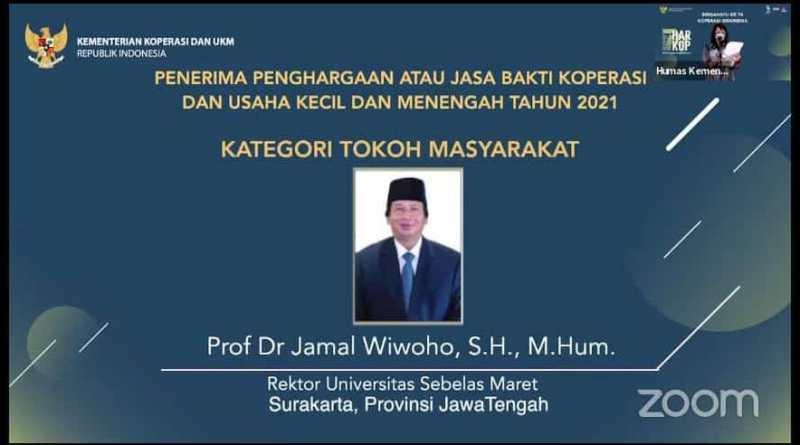 Rektor Universitas Sebelas Maret Surakarta, Prof. Jamal Wiwoho