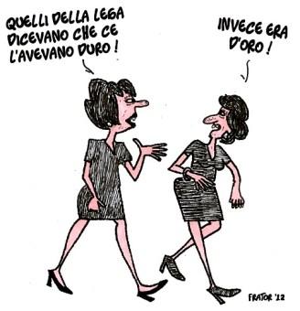 """Le """"dorezze"""" della Lega Nord"""