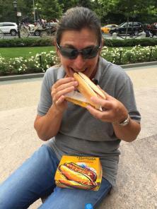 mmmmh, Nathan's hot dog