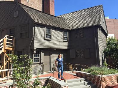 Paul Revere house - the oldest remaining structure in downtown Boston