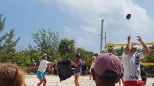 coconut catch underway