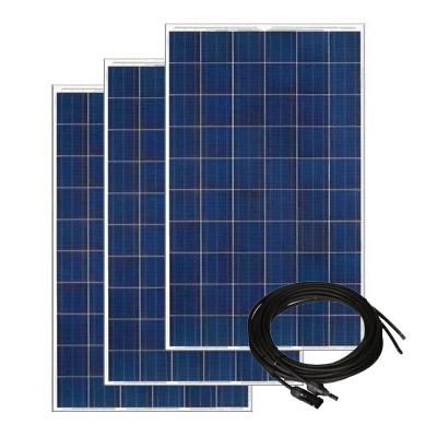 Solar Panel Kit for Solar A/C- 6 Panels, 305 watt ea., 72 cell Silver Frame