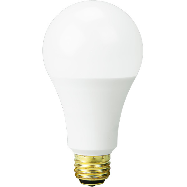 A21 – 40/60/100W Incandescent Equal – 5/9/16 Watt – 450/800/1600 Lumens – 5000 Kelvin Daylight White (3-WAY LIGHT BULB)