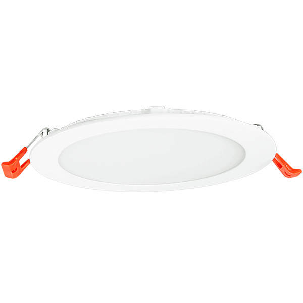 6 in. Ultra Thin LED Downlight 14 Watt – 85 Watt Incandescent Equal – 1100 Lumens – 5000 Kelvin – Round – White Trim – Dimmable