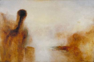 Turner Paysage avec de l'eau - Google Art Project