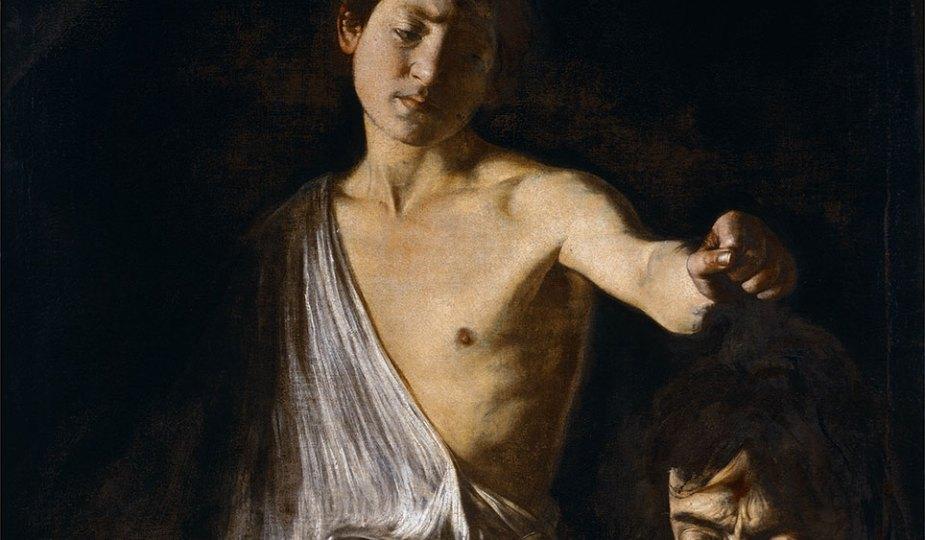Caravage David tenant la tête de Goliath