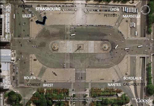 Place de la Concorde Plan