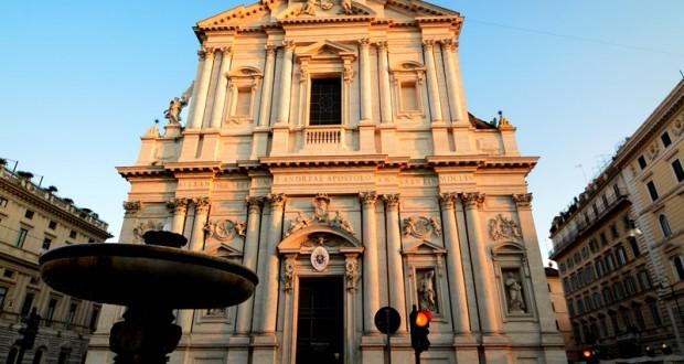 Façade de l'église Sant Andrea della Valle